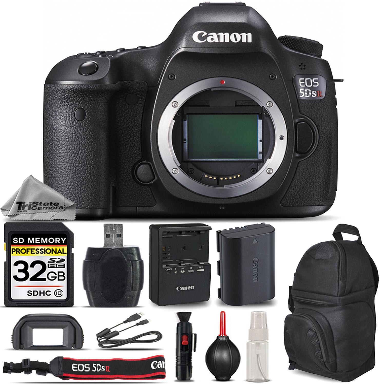 3c1b872f1054 CANON | EOS 5DS R / 5DSR 50.6 MP Digital SLR Camera Body - Essential ...