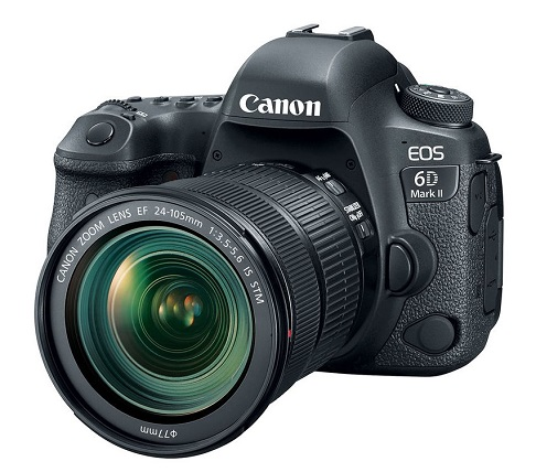 EOS 6D Mark II 26.2 Megapixel w/ EF 24-105mm f/3.5-4.5 IS STM Lens Digital SLR Camera Kit *FREE SHIPPING*