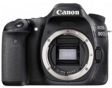 EOS 80D 24.2 MP, 3.0 Inch Vari-Angle Touchscreen LCD, Full HD Video DSLR Camera *FREE SHIPPING*