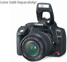 EOS Digital Rebel XT (350D) 8.0 Megapixel  Digital SLR Camera Body - Black *FREE SHIPPING*