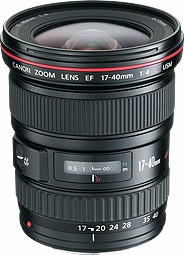 EF 17-40/4.0 L USM  Ultra Wide Angle Zoom Lens (77mm) *FREE SHIPPING*
