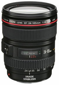 EF 24-105/4.0 L IS (Image Stabilized) USM  Wide Angle Telephoto Zoom Lens (77mm) *FREE SHIPPING*