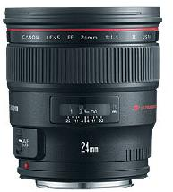 EF 24/1.4L II USM  Wide Angle Lens (77mm) *FREE SHIPPING*