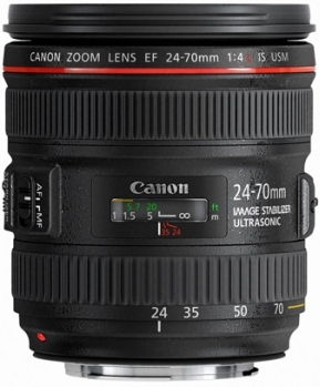 EF 24-70 f/4.0L IS USM Wide Angle Telephoto Zoom Lens (77mm) *FREE SHIPPING*