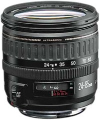 EF 24-85/3.5-4.5 USM  Wide-Angle Telephoto Zoom Lens (67mm)