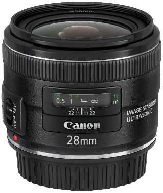 EF 28/2.8 IS USM Wide-Angle Lens (58mm) *FREE SHIPPING*