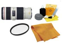 EF 70-200/4.0 L IS (Image Stabelized) USM  Telephoto Zoom Lens (67mm) • 67 UV Filter • Lens Cleaning Kit • Anti Static Cloth *FREE SHIPPING*