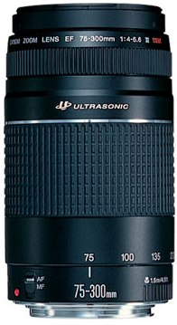EF 75-300/4.0-5.6 III USM  Telephoto Zoom Lens (58mm) - Factory Refurbished *FREE SHIPPING*