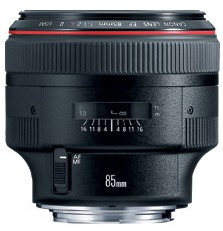 EF 85mm f/1.2L II USM  Telephoto Lens (72mm). *FREE SHIPPING*