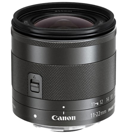EF-M 11-22mm f/4-5.6 IS STM Lens - Black *FREE SHIPPING*