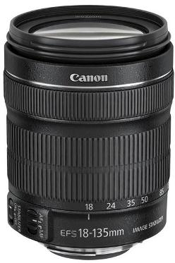 EF-S 18-135mm f/3.5-5.6 IS STM Wide Angle Telephoto Zoom Lens For EOS Digital SLRs With APS-C Size Sensor *FREE SHIPPING*