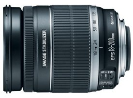 EF-S 18-200/3.5-5.6 IS Image Stabilized Wide Angle Telephoto Zoom Lens (72mm) *FREE SHIPPING*