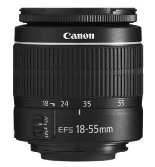 EF-S 18-55mm f/3.5-5.6 III Camera Lens (New In White Box) *FREE SHIPPING*