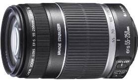 EF-S 55-250/4-5.6 IS Image Stabilized Telephoto Zoom Lens (58mm) *FREE SHIPPING*