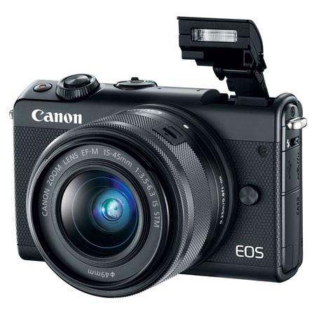 EOS M100 24.2 MP w/EF-M 15-45mm f/3.5-6.3 IS STM Lens Mirrorless Digital Camera Kit - Black *FREE SHIPPING*