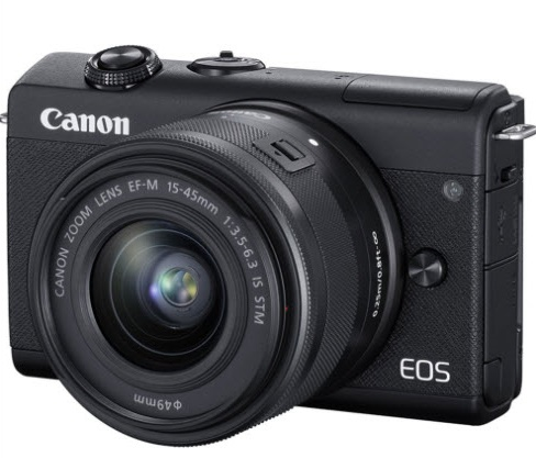 EOS M200 24.2 MP, UHD 4K Video w/EF-M 15-45mm f/3.5-6.3 IS STM Lens Mirrorless Digital Camera Kit - Black *FREE SHIPPING*