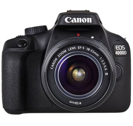 EOS 4000D / Rebel T100 18.0 Megapixel, 2.7-inch LCD, Full HD Video Beginner's DSLR w/ EF-S 18-55mm III Lens Kit *FREE SHIPPING*