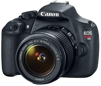 EOS Rebel T5 18.0 Megapixel, 3.0-inch LCD screen, HD Video DSLR w/ EF-S 18-55mm IS II Lens Kit *FREE SHIPPING*