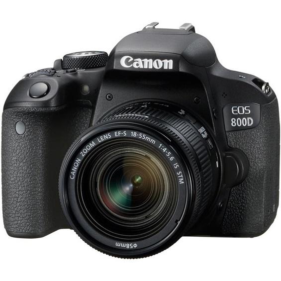 EOS 800D / Rebel T7i 24 Megapixel DSLR  w/18-55mm IS STM Lens DSLR Kit *FREE SHIPPING*