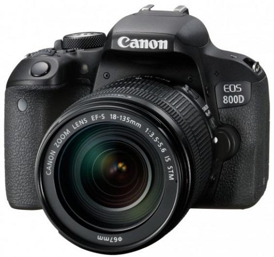 EOS Rebel T7i /800D 24 Megapixel w/18-135mm IS STM Lens DSLR Kit  *FREE SHIPPING*