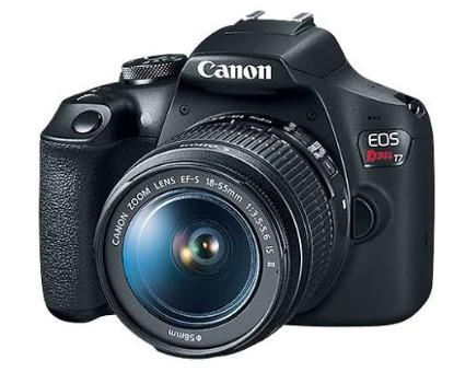 EOS Rebel T7 24.1 Megapixel, 3.0-inch LCD, Full HD Video DSLR w/ EF-S 18-55mm IS II Lens Kit *FREE SHIPPING*