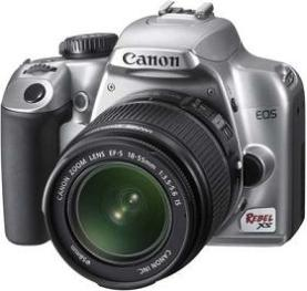 EOS Rebel XS 10.1 Megapixel, 2.5 Inch LCD Screen With Live-View With EF-S 18-55mm IS Image STABILIZED Zoom Lens Digital SLR Camera Kit - Silver *FREE SHIPPING*