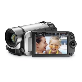Fs-200 Flash Memory Camcorder Misty Silver *FREE SHIPPING*
