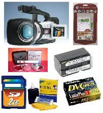 Gl-2 3ccd Digital Camcorder,20x Optical/100x Digital Zoom,L Fluorite Lens,2.5 Inch LCD, Dv I/O,Color Viewfinder,Multimedia Card Slot Kit
