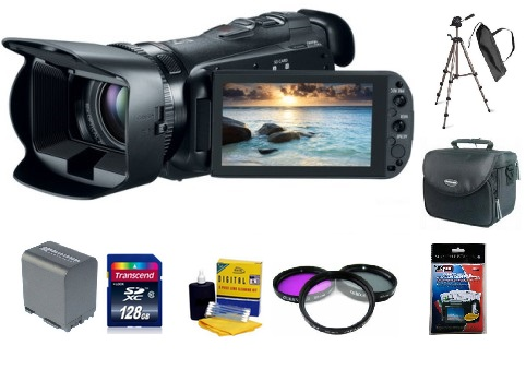 VIXIA HF-G20 Camcorder Deluxe Kit *FREE SHIPPING*