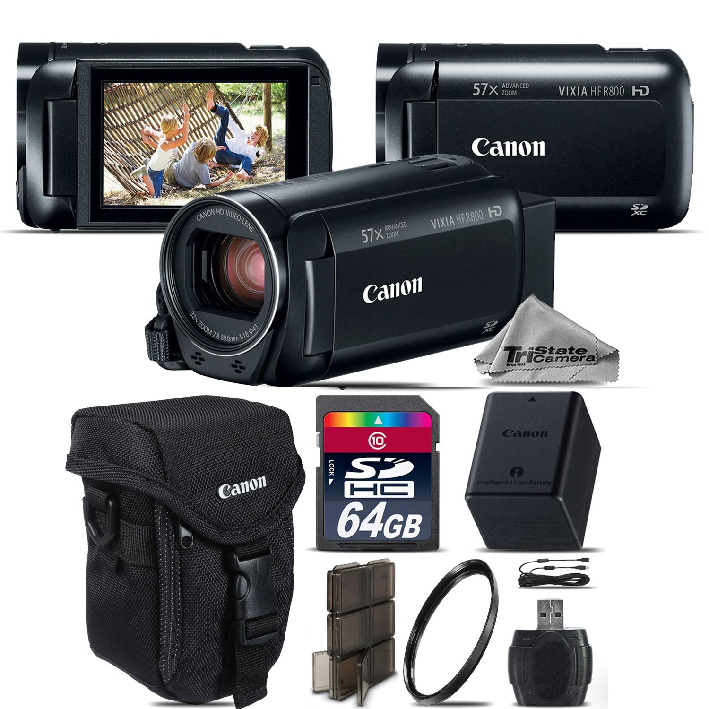 VIXIA HF R 800 57x Live Streaming Camcorder + Case + 64GB - Starter Bundle *FREE SHIPPING*