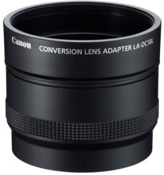 LA-DC58L Conversion Lens Adapter For PowerShot G15 Digital Camera
