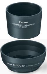 Lah-Dc20 Lens Adapter/Hood Set For PowerShot S2 Is & S3 Is
