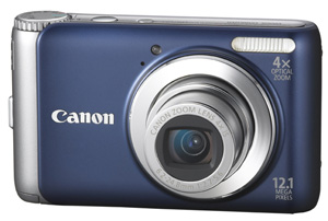 PowerShot A3100  IS 12.0 Megapixel, 4x Image Stabilized Optical Zoom, 2.7 Inch LCD Screen Digital Camera - Blue *FREE SHIPPING*