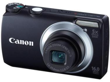 PowerShot A3300 IS 16.0 MP, 5x IS WIde Angle Opt Zoom, 3.0 In. LCD, HD Video Digital Camera - Black *FREE SHIPPING*