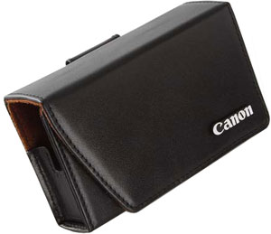 PSC-900 Deluxe Leather Case For PowerShot S-90 & S-95 Digital Cameras (Black) *FREE SHIPPING*