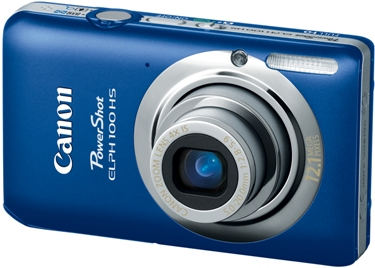 PowerShot Elph 100 HS 12.1 MP, 4x Opt Zoom, 3.0 In. LCD, Full HD Video Digital Elph Camera - Blue *FREE SHIPPING*