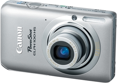 PowerShot Elph 100 HS 12.1 MP, 4x Opt Zoom, 3.0 In. LCD, Full HD Video Digital Elph Camera - Silver *FREE SHIPPING*