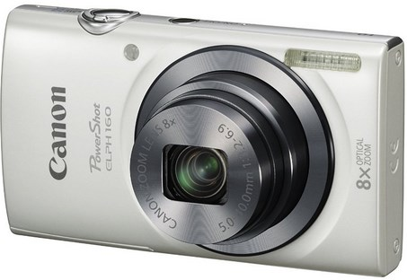 PowerShot Elph 160 IS 20.0 Megapixel, 8x Optical Zoom, 2.7 In. LCD, HD Video Digital Camera - White *FREE SHIPPING*