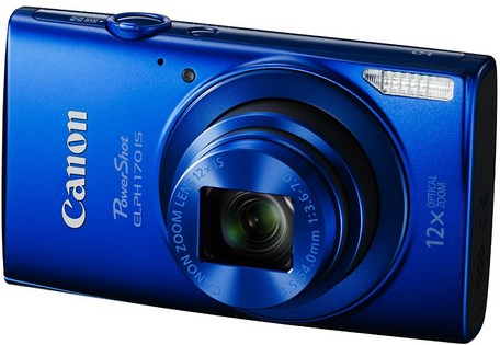PowerShot Elph 170 IS 20.0 Megapixel, 12x Optical Zoom, 2.7 In. LCD, HD Video Digital Camera - Blue *FREE SHIPPING*