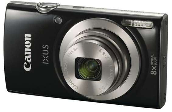 IXUS 185 (Elph 180) 20.0 Megapixel, 8x Optical Zoom, 2.7 In. LCD, HD Video Digital Camera - Black *FREE SHIPPING*