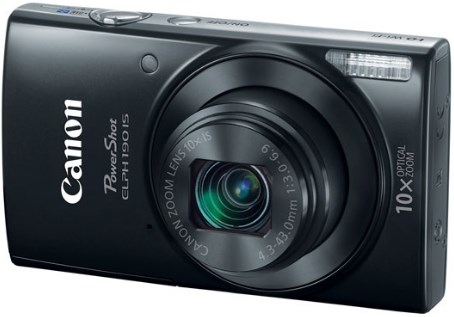 PowerShot Elph 190 IS 20.0 Megapixel, 10x Optical Zoom, 2.7 In. LCD, HD Video Digital Camera - Black *FREE SHIPPING*