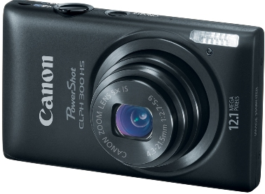 PowerShot Elph 300 HS 12.1 MP, 5x Opt Zoom, 2.7 In. LCD, Full HD Video Digital Elph Camera - Black *FREE SHIPPING*