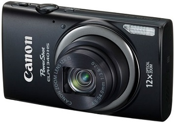 PowerShot Elph 340 HS 16.1 MegaPixel, 12x Optical Zoom, 3.0 In. LCD, Full HD Video, Wi-Fi Digital Camera - Black *FREE SHIPPING*