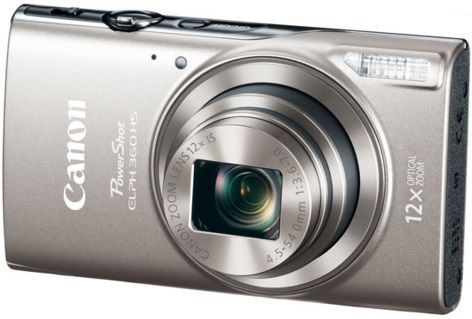 PowerShot Elph 360 20.0 Megapixel, 12x Optical Zoom, 3.0 In. LCD, Full HD Video Digital Camera - Silver *FREE SHIPPING*