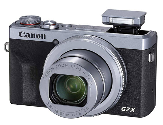 PowerShot G7 X Mark III 20.1 MegaPixel, 4.2x f/1.8 Optical Zoom, 3.0 In Tilt TouchScreen LCD 4K Video Digital Camera - Silver *FREE SHIPPING*