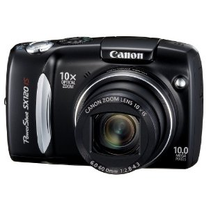 PowerShot SX120IS 10MP Digital Camera w/ 10x Zoom & 3-inch LCD (REFURBISHED)
