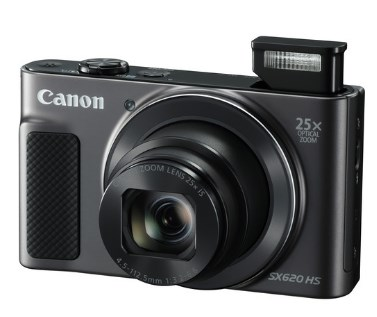 PowerShot SX 620 HS 20.2 Megapixel, 25x IS Zoom Lens, 3.0 In. LCD Screen, Full HD Video Digital Camera - Black *FREE SHIPPING*