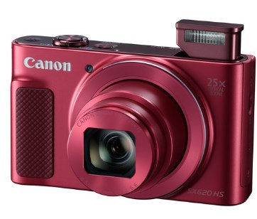 PowerShot SX 620 HS 20.2 Megapixel, 25x IS Zoom Lens, 3.0 In. LCD Screen, Full HD Video Digital Camera - Red *FREE SHIPPING*