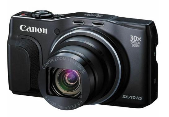 PowerShot SX 710 HS 20 Megapixel, 30x IS 25mm Wide Zoom Lens, 3.0 Inch LCD Screen, Full HD Video Digital Camera - Black *FREE SHIPPING*