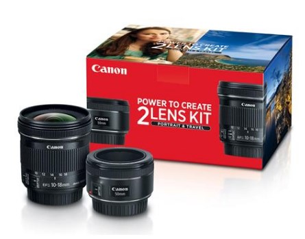 Portrait & Travel 2 Lens Kit *FREE SHIPPING*
